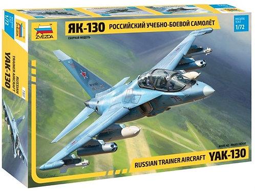 Як-130 российский учебно-боевой самолет - Звезда 7307 1/72