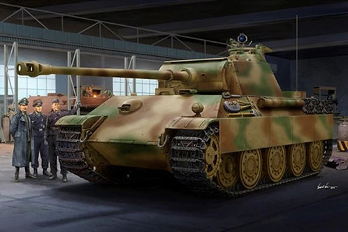 Sd.Kfz.171 Panther G Late Version - Trumpeter 1:16 00929