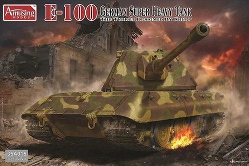 (под заказ) Немецкий танк E-100 с башней Круппа - Amusing Hobby 35A015 1:35