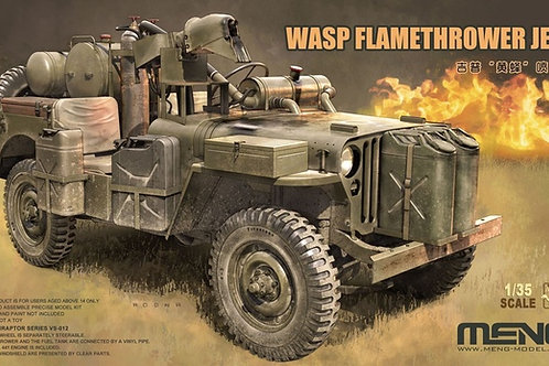 WASP Flamethrower Jeep - Meng Model 1:35 VS-012