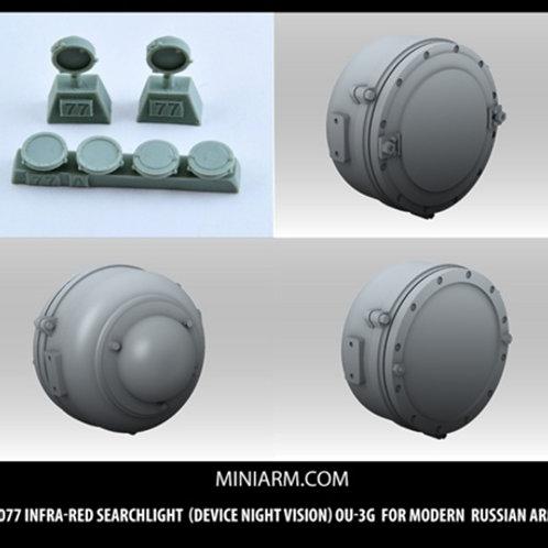 MINIARM B35077 Осветитель ОУ-3Г для советской и российской БТТ - 1:35 35077