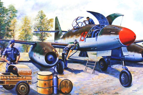 Messerchmitt Me 262 A-1a (clear edition) - Trumpeter 1:32 02261