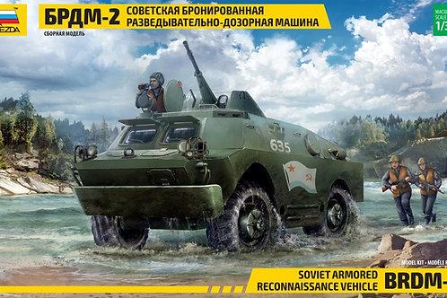 3638 Звезда 1:35 Советская бронированная разведывательно-дозорная машина БРДМ-2