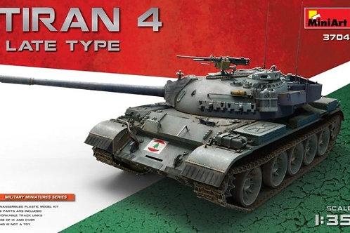 Израильский танк Tiran 4 поздний выпуск - Miniart 37041 1/35