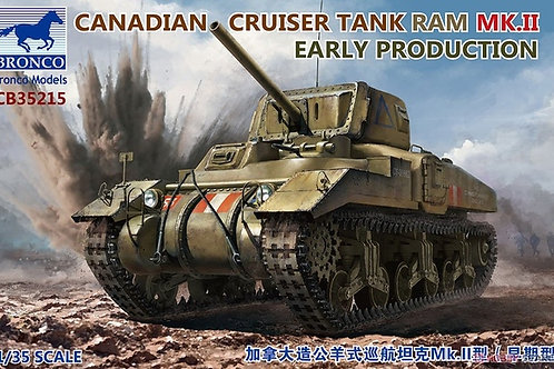 Canadian Tank Ram MK.II Early Production - Bronco 1:35 CB35215
