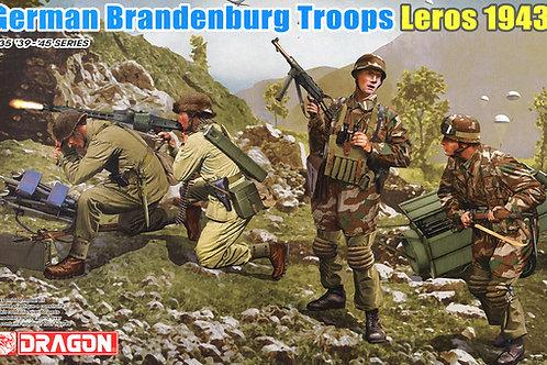 (под заказ) Фигуры German Brandenburg Troops, Leros 1943 - Dragon 1:35 6743
