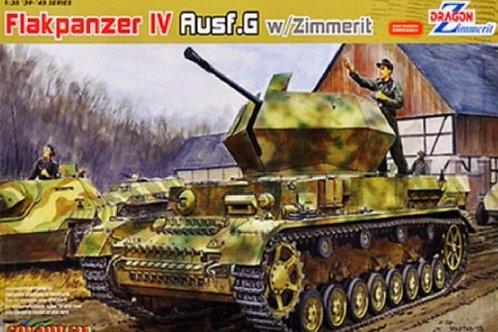 (под заказ) 3.7cm Flakpanzer IV Ostwind Ausf. G с циммеритом - Dragon 6746 1:35