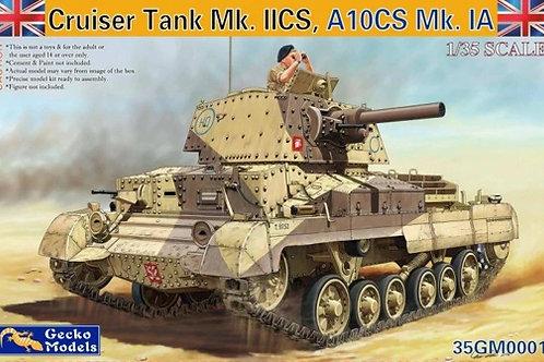 (под заказ) Cruiser Tank Mk. IICS, A10CS Mk.IA с 94-мм гаубицей, GECKO 35GM0001