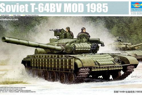 Советский танк Т-64 БВ мод. 1985 г. сборная модель- Trumpeter 05522 1:35