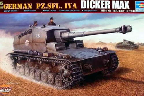 "Немецкая самоходка Dicker Max ""Толстый Макс"" - Trumpeter 00348 1/35"