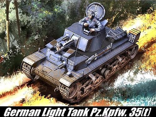 Немецкий танк Pz.Kpfw. 35(t) - Academy 1:35 13280