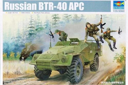 Советский БТР-40 - Trumpeter 05517 1:35