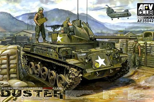 M42A1 Duster Late type, Vietnam War - AFV Club 1:35 AF35042