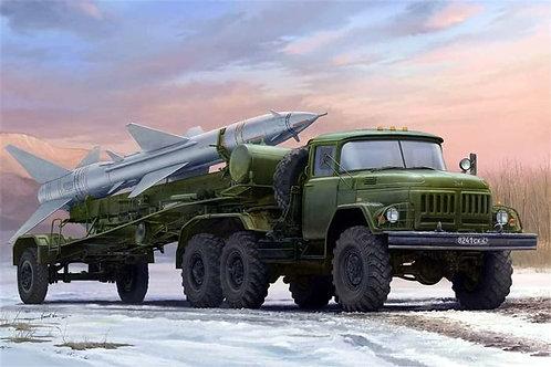 Советский ЗиЛ-131В с ракетой С-75 Двина (SA-2 Guideline) - Trumpeter 01033 1/35