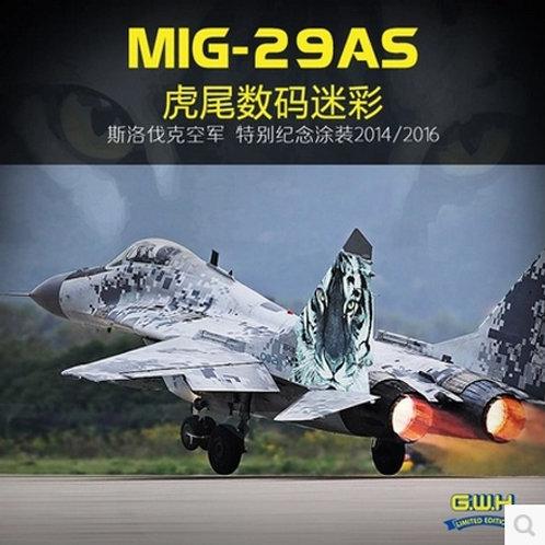 (п/заказ) S4809 МиГ-29АС Словакия 2014 цифровой камуфляж - Great Wall Hobby 1:48