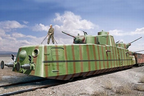 Советский броневагон МБВ (пушка Ф-34) - Hobby Boss 1:35 85515