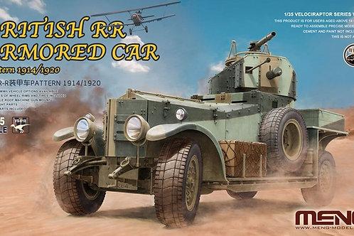 British Rolls-Royce armoured car Pattern 1914/1920 - MENG 1:35 VS-010