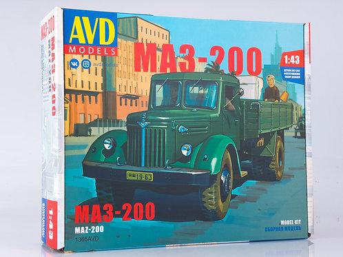 1365AVD AVD Models 1/43 Советский грузовик МАЗ-200 бортовой