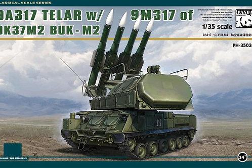 "(под заказ) Российский ЗРК ""Бук-М2"" с ракетами 9М317 - Panda Hobby 1:35 PH35034"