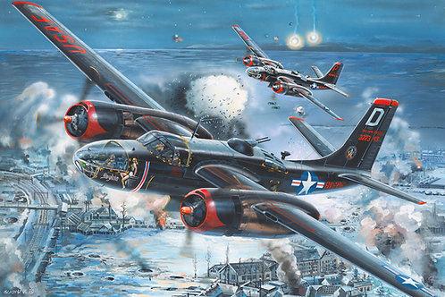 (под заказ) Американский самолет A-26C Invader - Hobby Boss 1:32 83214