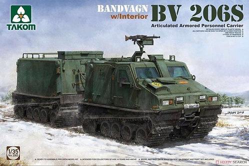 Шведский вездеход Bandvagn Bv 206S - Takom 2083 1/35