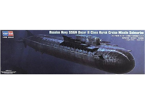 """Подводная лодка К-141 """"Курск"""", SSGN Oscar II Class - Hobby Boss 1:350 83521"""