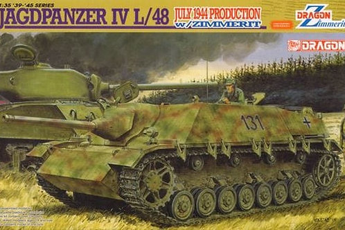 Jagdpanzer IV L/48 July 1944 Production w/Zimmerit - Dragon 6369 1:35 (DS)