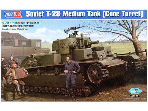 Советский танк Т-28 (коническая башня) - Hobby Boss 1:35 83855