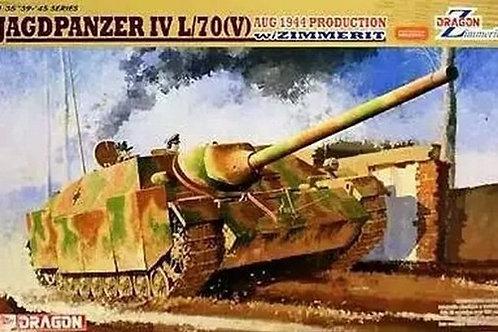 (под заказ) Jagdpanzer IV L/70(V), август 1944, с циммеритом - Dragon 6589 1:35