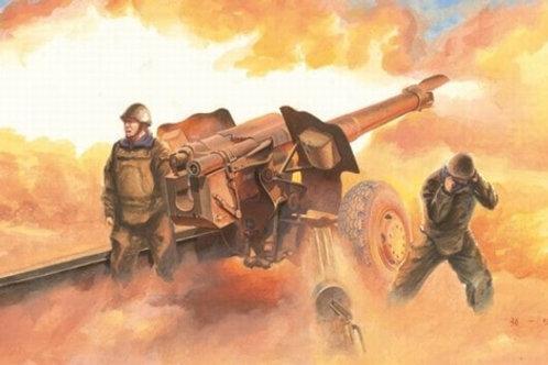 Советская 122-мм пушка Д-74 - Trumpeter 1:35 02334