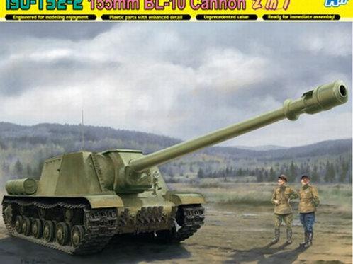 Советская самоходка ИСУ-152-2 с 155-мм БЛ-10 пушкой - Dragon 6796 1:35