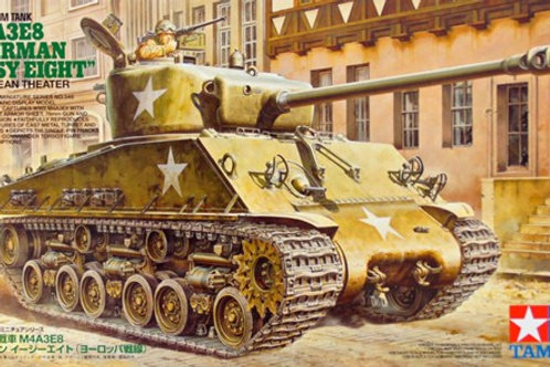 M4A3E8 Sherman Easy Eight, Западная Европа 1944-1945 - Tamiya 35346 1/35