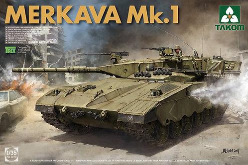 (под заказ) Израильский ОБТ Merkava 1 - Takom 2078a 1/35 (белая обложка)