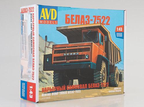 Карьерный самосвал БЕЛАЗ-7522 - AVD Models 1331AVD 1:43