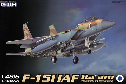 Израильский самолет F-15I IAF Ra'am - Great Wall Hobby 1:48 L4816