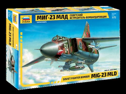 7218 Звезда 1/72 Советский самолет МиГ-23 МЛД