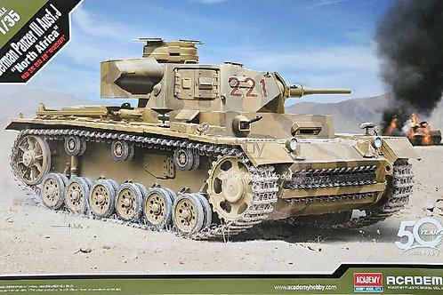 (под заказ) Panzer III Ausf. J, DAK North Afrika - Academy 1:35 13531