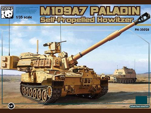 (под заказ) Американская самоходка M109 A7 Paladin - Panda Hobby PH35028 1:35