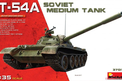 Советский танк Т-54А - MiniArt 37017 1/35