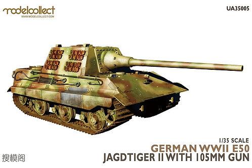 E-50 Jagdtiger II with 105mm gun - Modelcollect UA35005 1/35 - серия Fist of war
