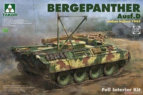 Bergepanther Ausf.D Umbau Seibert 1945 Full Interior Kit - Takom 2102 1/35