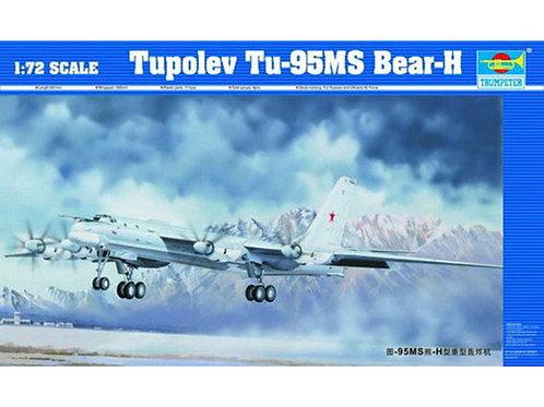 Российский бомбардировщик Туполев-95МС - Trumpeter 1:72 01601
