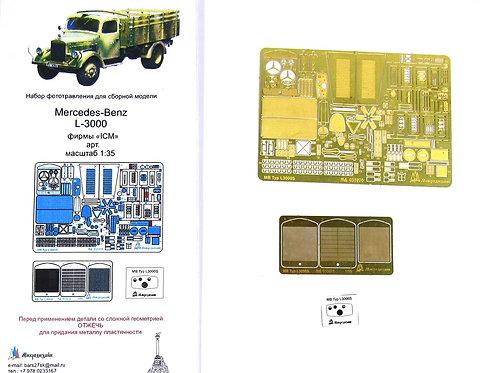 МД 035270 Mercedes-Benz L-3000 от ICM (1:35)