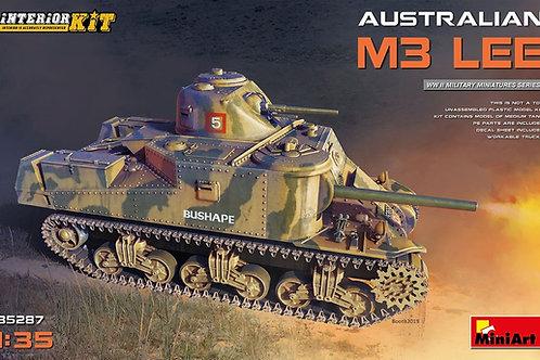 Австралийский танк M3 Lee с интерьером - MiniArt 35287 1/35