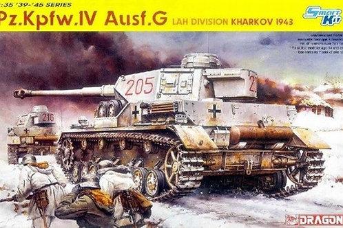Pz.Kpfw. IV Ausf. G, LAH Division Kharkov 1943 - Dragon 6363 1:35