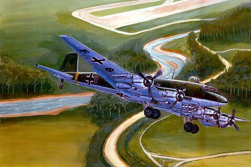 Немецкий самолет Focke-Wulf Fw 200 C-4 Condor - Trumpeter 1:72 01638
