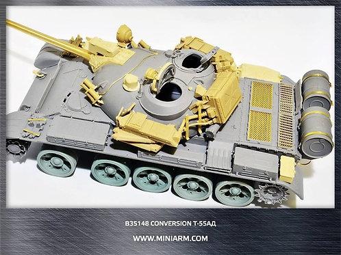 "35148 MINIARM Конверсионный набор Т-55АД (КАЗ ""Дрозд"") + ствол, 1:35 B35148"