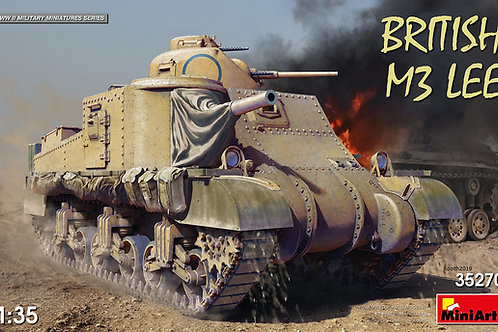 Британский танк M3 Lee (без интерьера) - MiniArt 35270 1/35