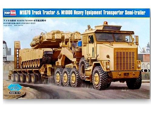 (под заказ) Тягач M1070 с полуприцепом M1000 - Hobby Boss 85502 1:35