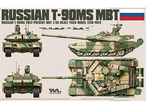 Российский танк Т-90МС (экспортная версия) - Tiger Model46121:35